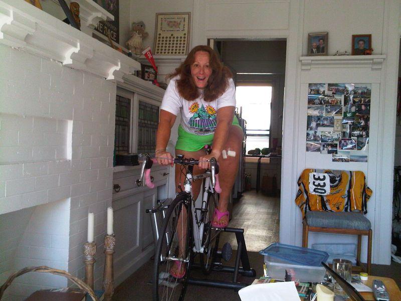 Post-surgery bike