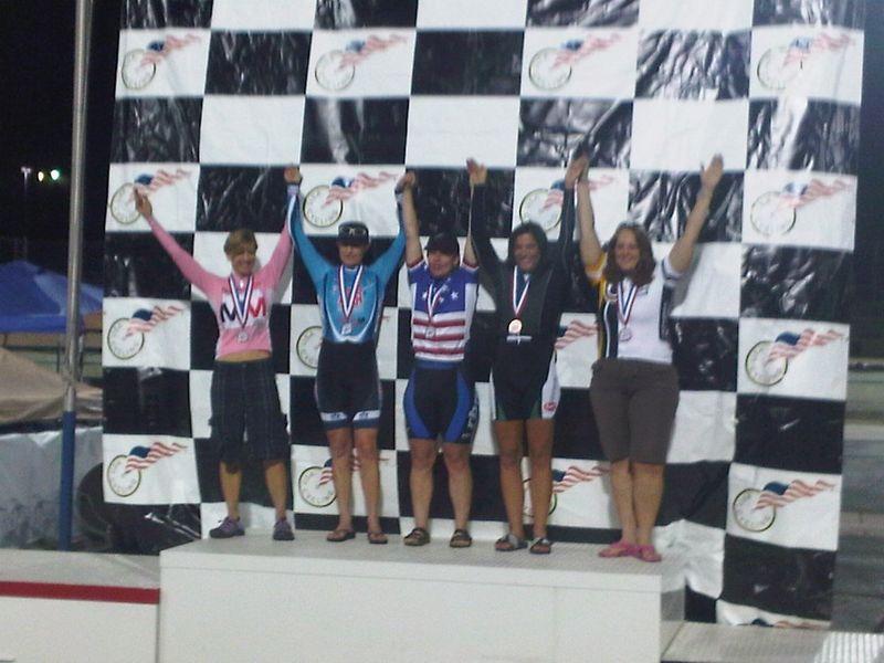 Sprint podium
